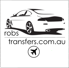Ballina transfers for ROBS TRANSFERS logo. by ROBS TRANSPORT BALLINA